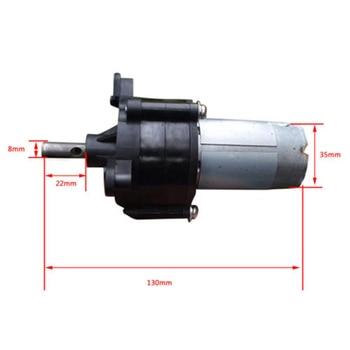 Minyatür El Krank Rüzgar Hidrolik Jeneratör Dynamotor Motor 20 Watt DC5V-24  V