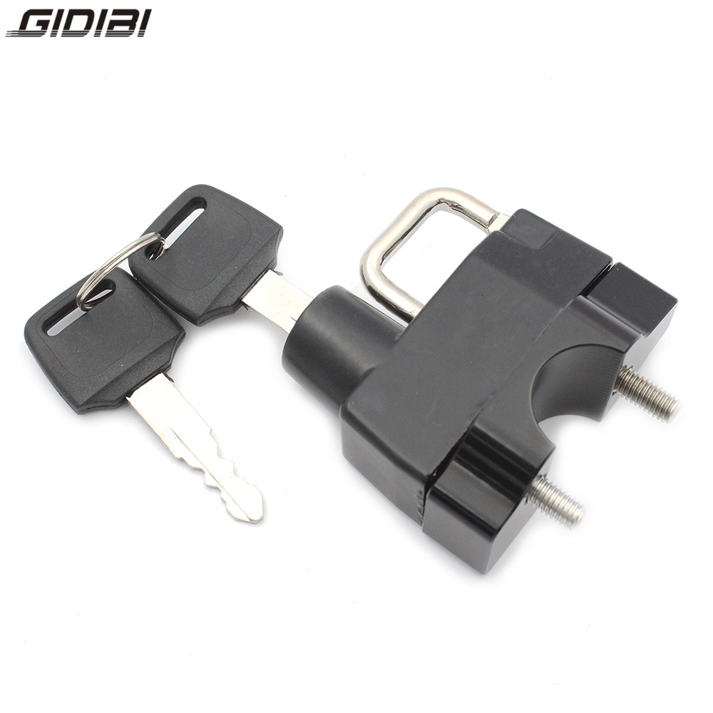 Aluminum Motocycle Anti-Theft Helmet Lock For Yamaha  FZ6 Fazer/FZ750 Genesis/XJ600/XJ900 Diversion/ Sr 400/SR 500/TDM900 Holder