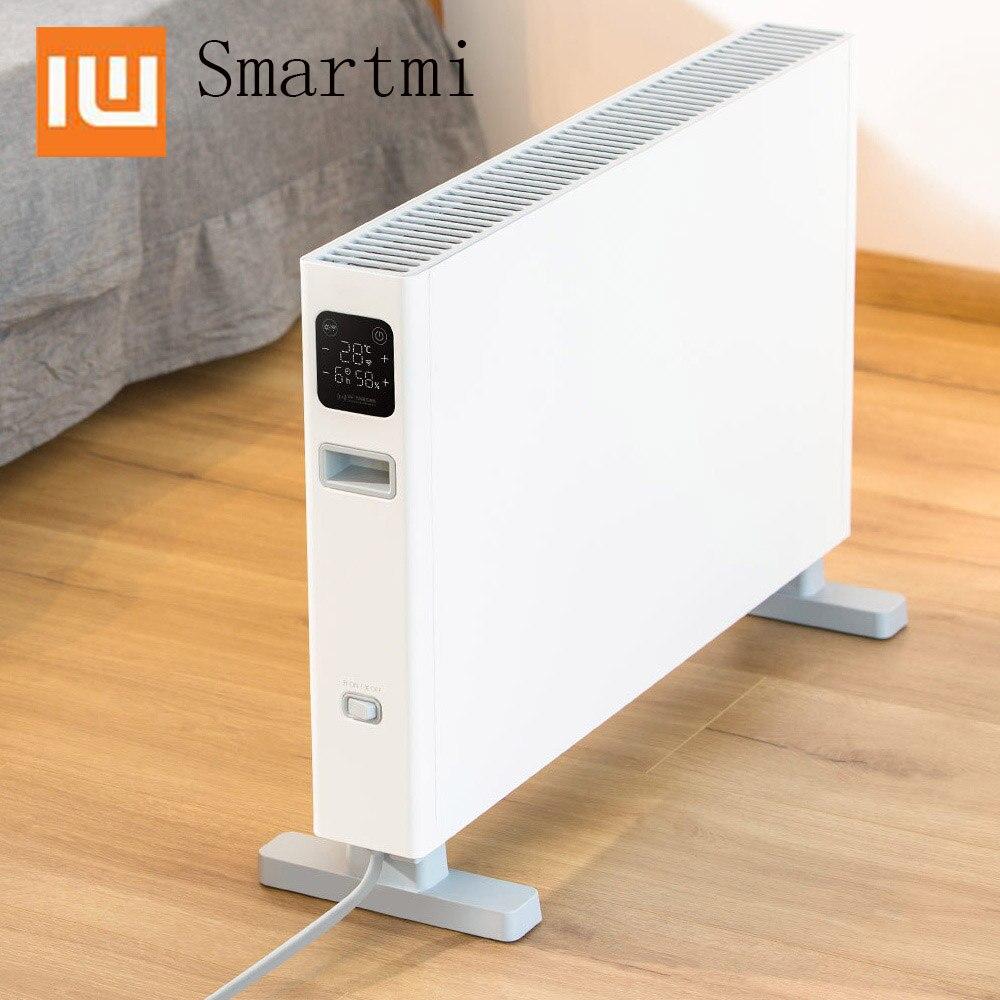 Xiaomi Smartmi chauffage électrique Convection chauffage énergisant chauffage Non inductif muet double Protection de sécurité pour la maison au chaud