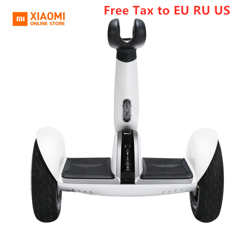 Xiaomi Mini Plus двухколесный умный электрический самокат, самобалансирующийся скутер, 20 км/ч, пульт дистанционного управления, скейтборд, 2019