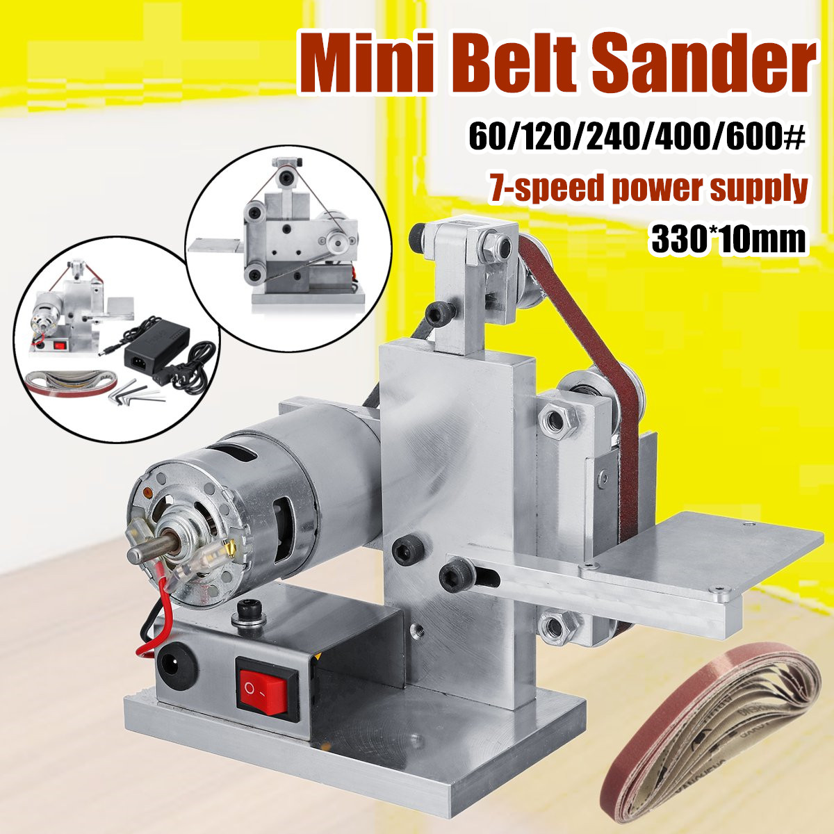 Aliexpress Com Buy 330x10mm Diy Mini Sanding Grinding