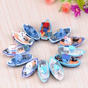 Mini Beach Boat Dollhouse Fair