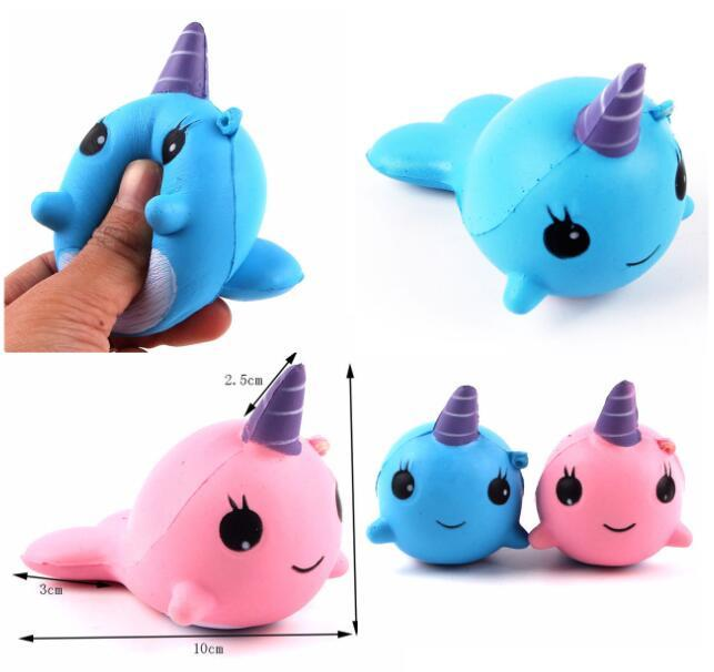 2018 1pcs Kawaii Anti-stress Squishy Mini Cute Unicorn Squeeze Slow Rising Rebound Toy Soft Doll Gift Durable In Use