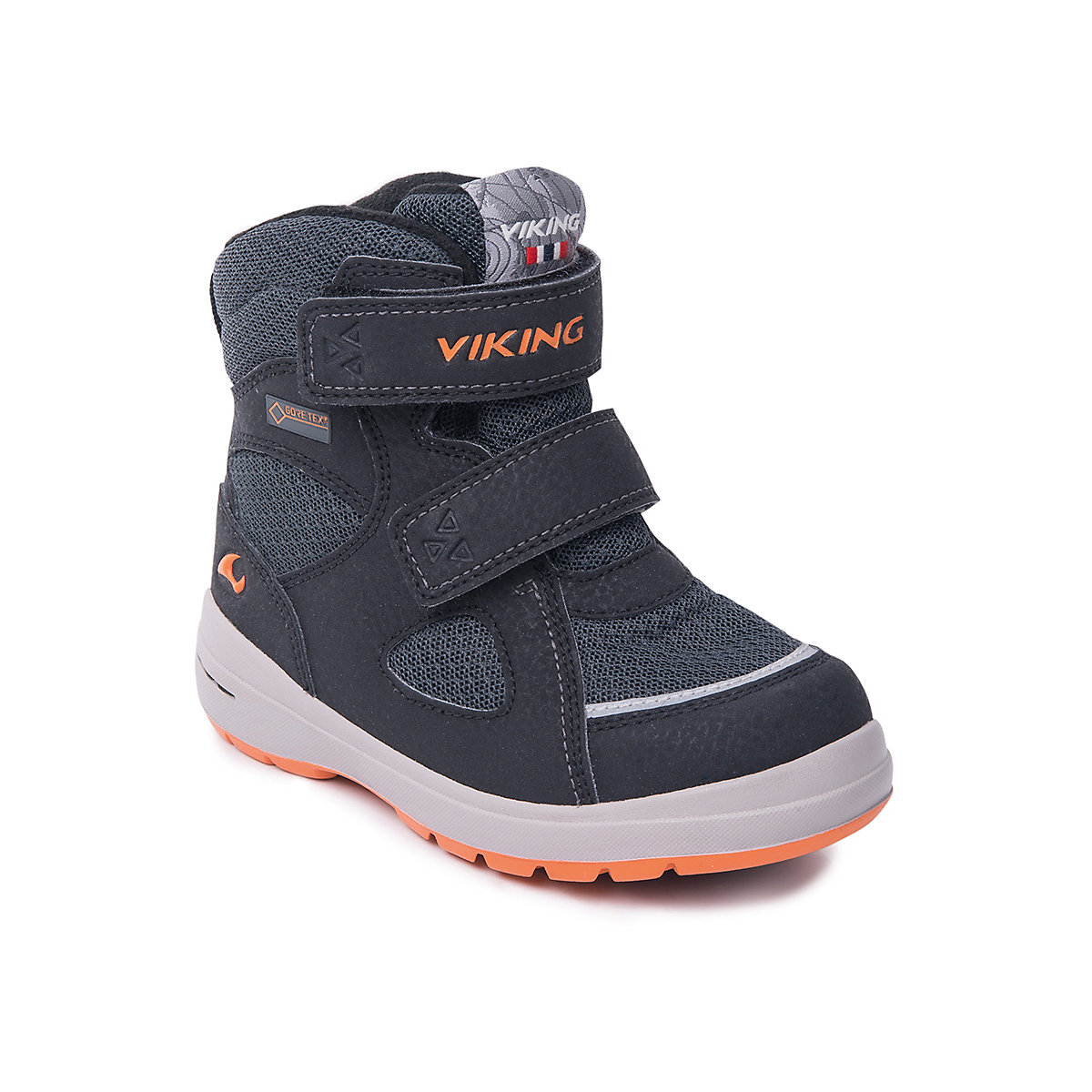 VIKING Boots 7169036 Winter Baby Boy shoes child snow boots male shoes plus velvet child girls big boy baby winter boots ankle boots 2016 winter