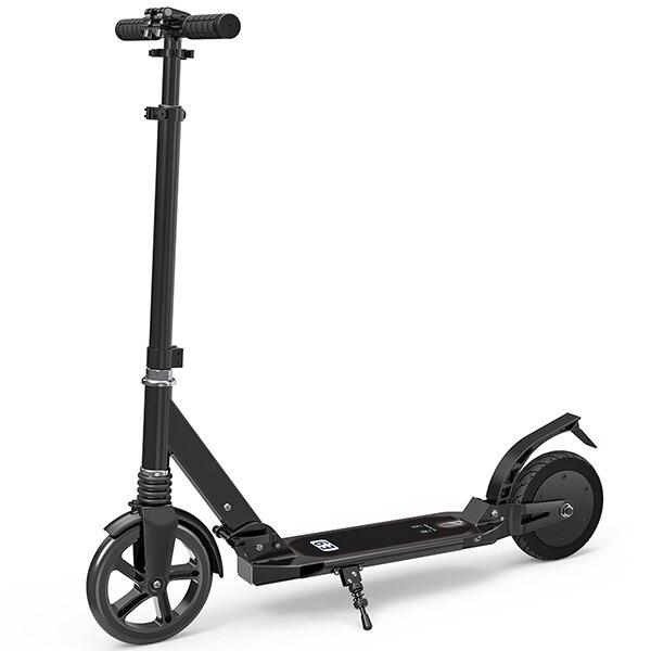 Scooter électrique se pliant dur d'alliage d'aluminium 2600 mAh avec le double pneu de 8 pouces