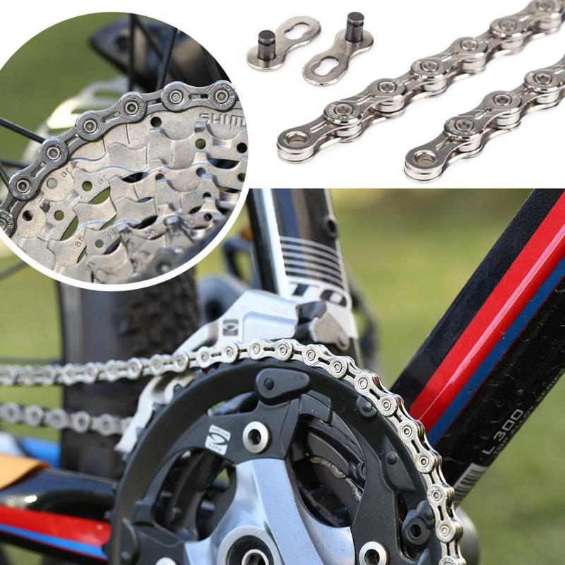 F80 Bicycle Chain Gold 8 Speed 116L Mountain Road Bike Chain 24Speed Solid Palte