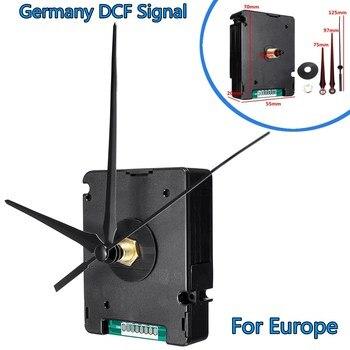 Atomic Radio Controlled Silent Clock movimiento DIY Kit Alemania DCF señal para Europa HR9624 plástico y aluminio