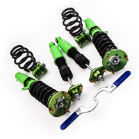 Coilovers Kits for BMW E46 3 Series 320i 323i 323Ci 325Ci Adjustable Mounts for Base Wagon 4 Door Shock Absorbers Adj Height