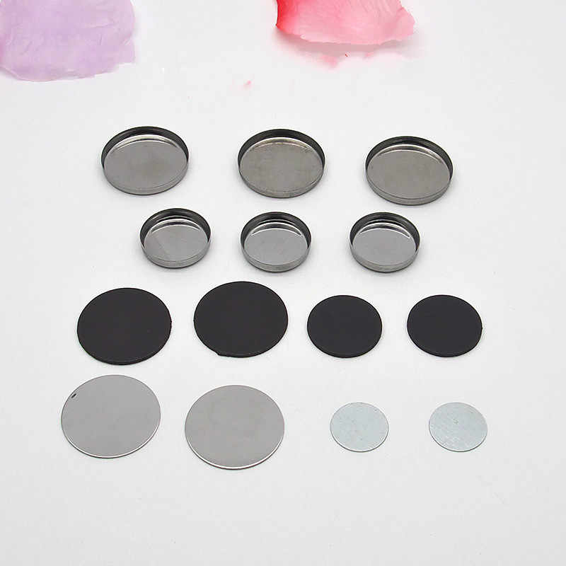 100pcs Empty Magnetic For DIY Eye Eyeshadow Shadow Makeup Powder Fundation Refill Palette  Lipstick blush pans