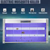 220V Mosquito Killer Lamp 30W LED Electric Shock Anti Mosquito Killer Pest Fly Bug Zapper Catcher Insect Traps Lamps for Home