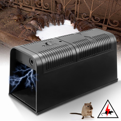 1Pcs Electronic Mouse Killer Rat Zapper Exterminator Trap Humane Rodent Mousetrap Device 235X102X113MM DC6V