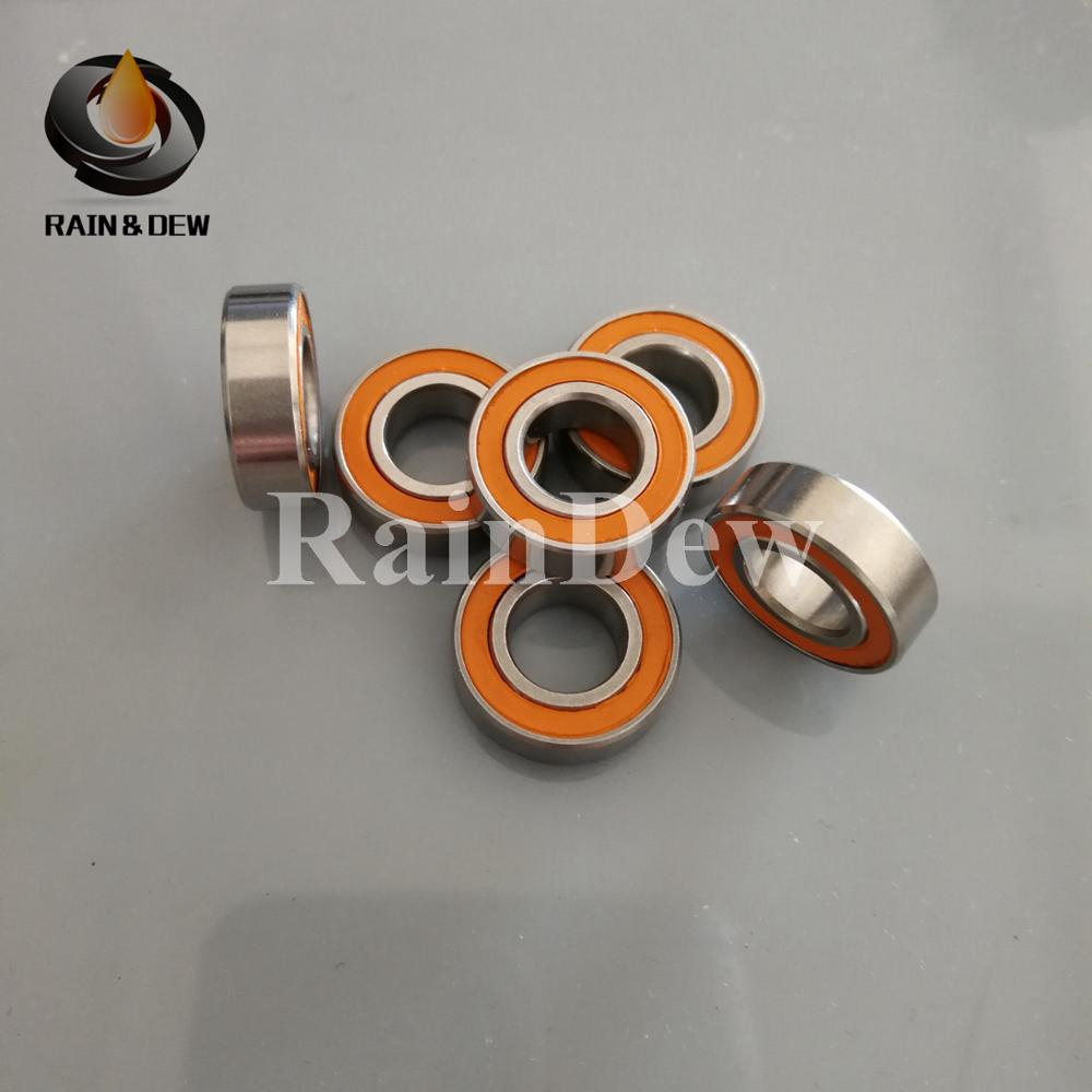 S686-2RS 6x13x5 mm QTY 5 CERAMIC 440c Stainless Steel Ball Bearing 686RS