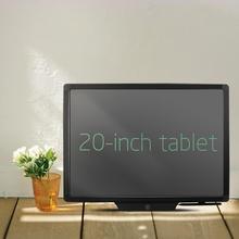 Высокотехнологичный гибкий экран 20 дюймов электронный ЖК-дисплей почерк планшет доска для рисования для взрослых/детей список заметок