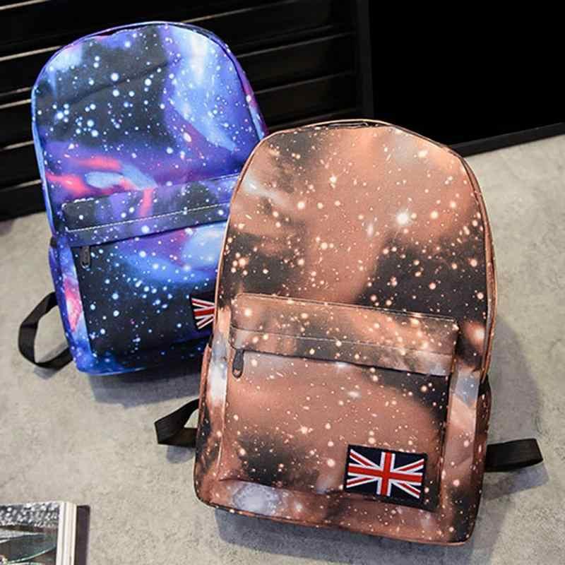 2018 Корейский Новый повседневный рюкзак с принтом рюкзак Harajuku звездное небо Студенческая игровая сумка рюкзак школьные сумки