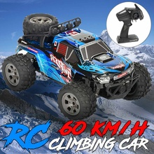 RC Racing Car 2.4G 4WD Electric Remote Motor Toy Kids Boy Child Gift High Speed Road Vehicle Climbing Electric Car 1:18 Scale