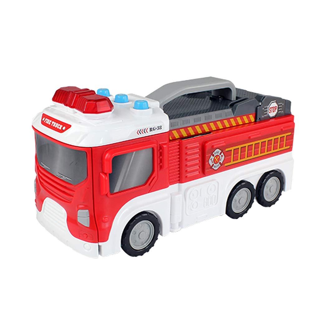 Camion de pompier transformateur véhicule Imagination créativité développement jouets éducatifs cadeau d'anniversaire pour enfants enfants en bas âge