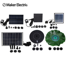 Solar water pumps, garden fountain and other types of outdoor energy saving environmental protection