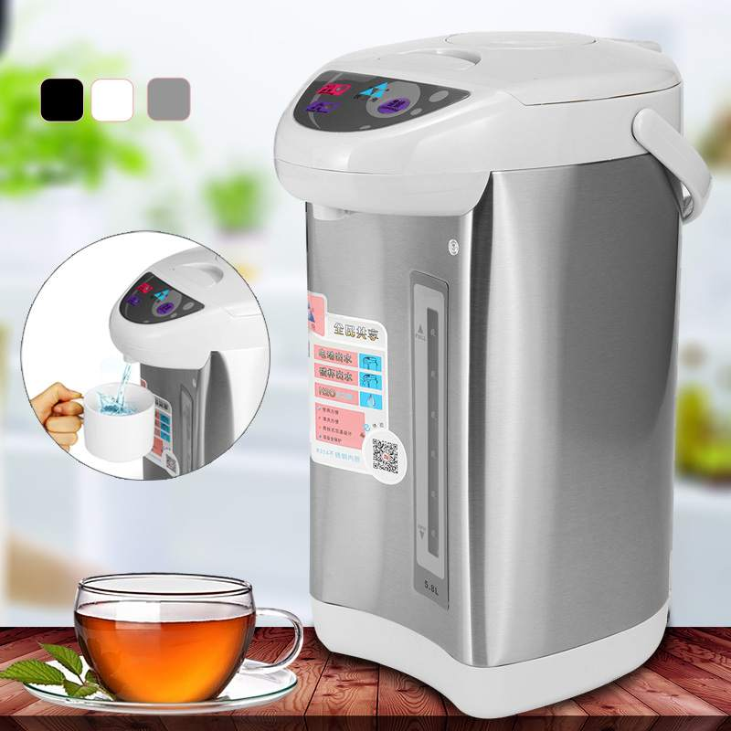220V 750W 5.8L Stainless Steel Electric Boiler Kettle Microcomputer Control Household Heater220V 750W 5.8L Stainless Steel Electric Boiler Kettle Microcomputer Control Household Heater