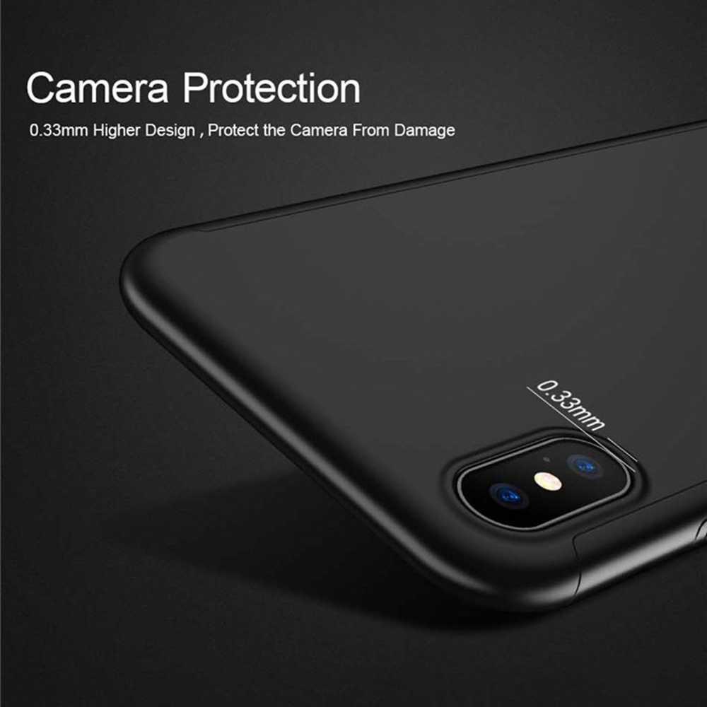 KISSCASE 360 grados funda completa para Huawei Mate 20 Lite P20 P10 P8 Lite 2017 Honor 6C Pro 6X 7X 8X 8A 9 9i 10 Lite V20 caso