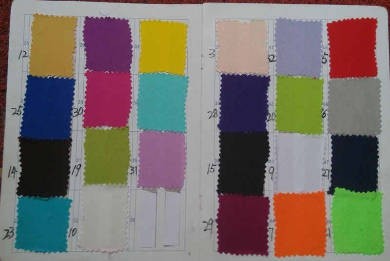 Jersey Color Chart 2