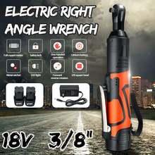 Электрический гаечный ключ, 18 в, набор 3/8, беспроводной Трещоточный ключ, аккумуляторные леса, 60нм, крутящий момент, трещотка, светодиодный, рабочий светильник