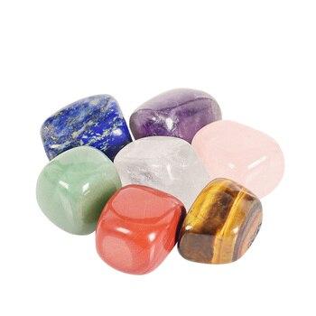 Assortiment de 7 cristaux de guérison