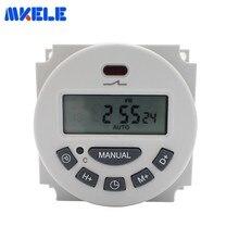 цена на Programmable Electronic Digital Timer Switch EU Plug Relay Timer Outlet AC 220V 110V AC/DC 24V 12V  230V 50HZ