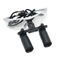 High Quality Plastic Frame Medical Loupes 6.0X R Binocular Magnifier Medical Dental Surgical Loupes 3 Color Option
