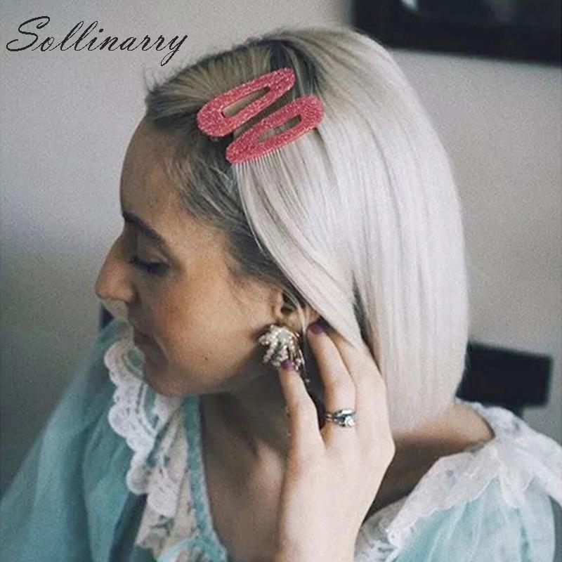 Hair Clip Trend 2019: Sollinarry New Casual Hair Clip Hair Accessories Women