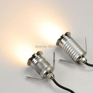 Image 3 - Водонепроницаемый утопленный напольный светодиодный светильник, точечный светильник для сада, уличное освещение для террасы, палуба, 12 В, IP67