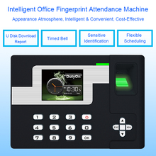 Biometric Time Attendance System TCP/IP USB Fingerprint Attendance Access Control Time Clock Employees Device Fingerprint Reader все цены