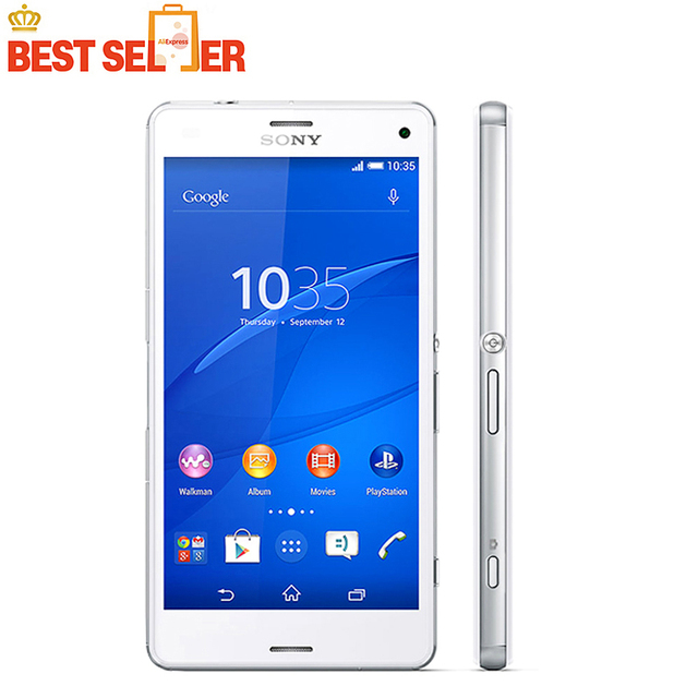 Original Sony Xperia Z3 Compact D5803 LTE Mobile Phone NFC 4.6 inch WIFI GPS Sony Z3 Mini 4G LTE Front & Back Camera Smartphone