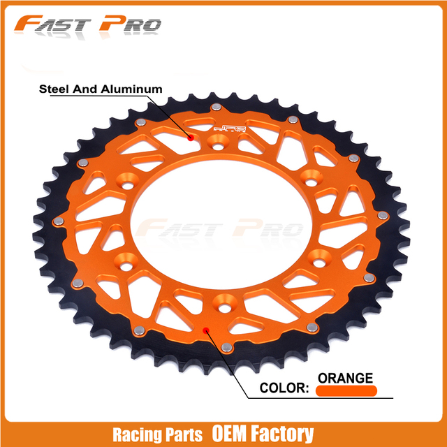 bdd0cf6f0e4e5 50 t Coroa Traseira Para KTM SX EXC MX MXC XC XCF SXF XCW EXCF XCFW ...