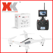 Original XK X300-F Brushed RC Drone RTF 5.8G FPV 720P HD 2.4GHz 8CH 6-axis Gyro Optical Flow Positioning Air Press Altitude Hold xk x300 5 8g hd 720p fpv quacopter rtf white