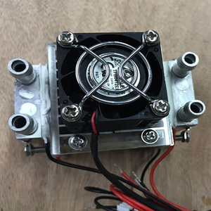 Image 5 - semiconductor refrigerator water cooling air condition Movement for refrigeration and fan DIY 120W TEC Peltier Water cooling air