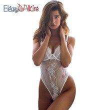 E&A 2019 Fashion New Women Bodysuit Sexy Costumes Female Underwear Erotic Teddy Lace Babydoll Sex Intimate Lady Porno Nightwear
