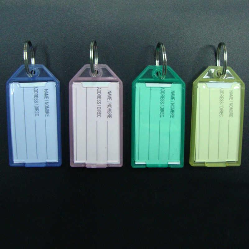 สีสัมภาระการจำแนกเครื่องหมายหมายเลขสำหรับผู้ชาย Candy สีพลาสติก Graceful 1 PC/5 PCS Office Renovate โรงแรม