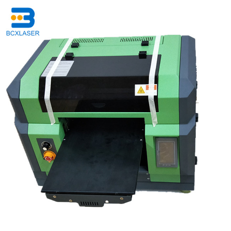 DX5 inkjet flatbed printer for textile printing white textile ink for T shirt printer A3 size DTG printing machine for Epson