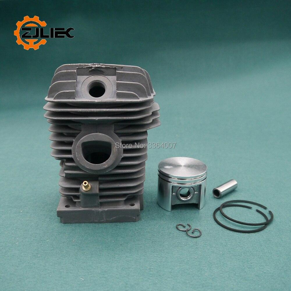 Cilindro del pistón adecuado Stihl 023 MS 230 nuevo set 5 motor sierra motosierra