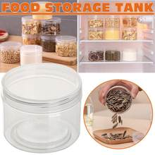 b845c55d4e5f Kitchen Food Container Seal Pot Tea Coffee Candy Storage Tank Plastic  Cereals Snacks Box Cookie Canister Jars For Spice