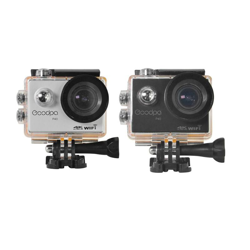 Goodpa P40 Action Kamera 30 Mt Wasserdichte Fernbedienung Ultra Hd 16mp 4 Karat Wifi 1080 P 30fps 2,0 Lcd 170 Grad Sport Kamera Sport & Action-videokamera