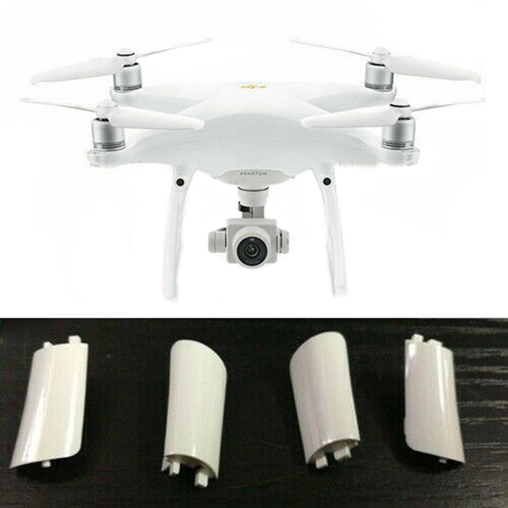 4Pcs Landing Gear Cover Case Repair Parts Body Shell Repair Spare Parts For DJI For Phantom 4 Pro/Adv Drone Accessories Kits