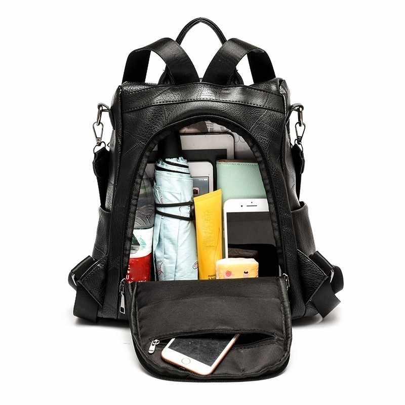 2019 женские кожаные рюкзаки высокого качества женские рюкзаки для девочек в консервативном стиле женские школьные сумки для девочек Sac A Dos