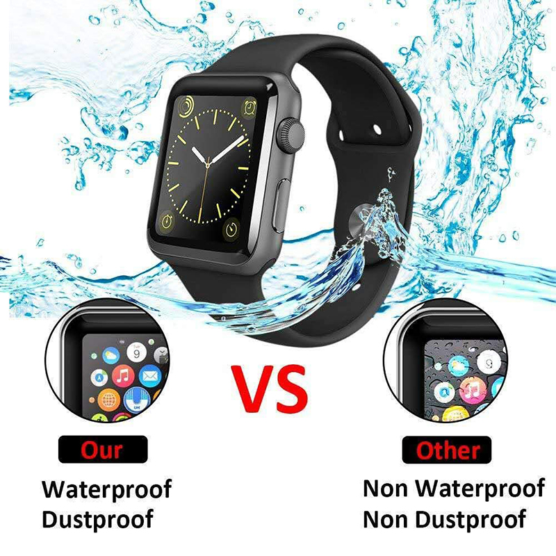 PET + PMMA waterproof screen protector for apple watch 5 4 3 38MM 40MM 44MM 42MM Not Tempered soft glass film for Iwatch 4/5 4