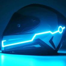 Night Safety Motorcycle Helmet LED Stripe