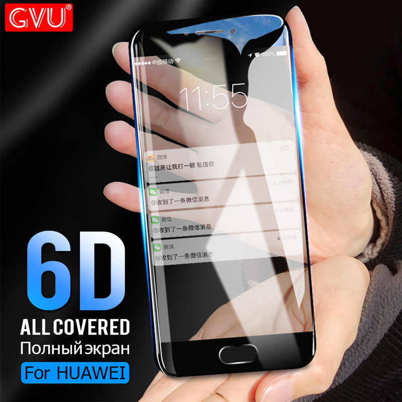 6D Full Cover Tempered Glass On The For Huawei Mate 8 9 10 20 Lite 10 Pro Screen Protector For Huawei Honor 10 9 Lite V10 Glass