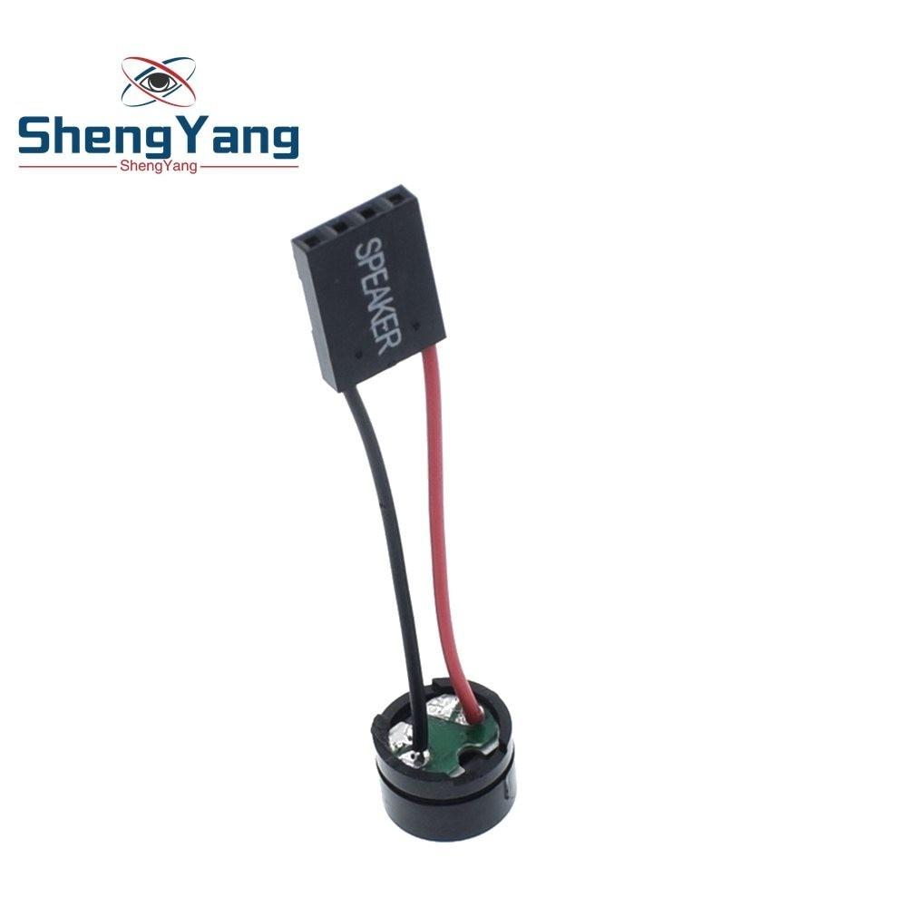 10PCS Mini Plug Speaker for PC Interanal BIOS Computer Motherboard Case Buzzer Board Beep Alarm