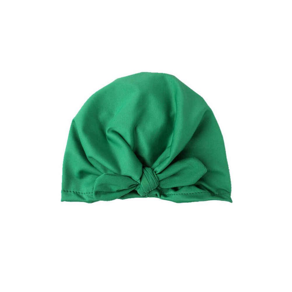 Pudcoco 2019 ยี่ห้อใหม่แฟชั่นทารกแรกเกิดเด็กวัยหัดเดินเด็กทารกเด็กทารกเด็ก Turban หมวกผ้าฝ้าย Beanie หมวกฤดูหนาว
