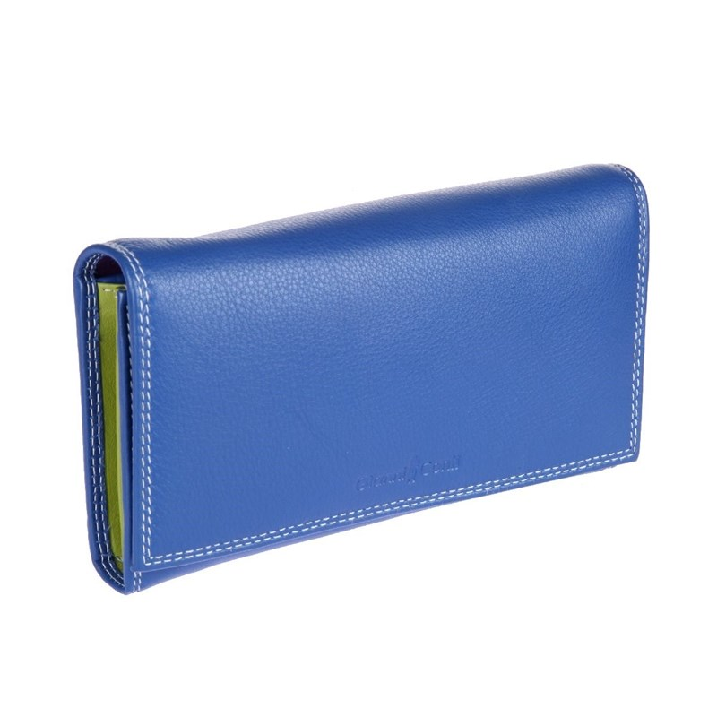 Coin Purse Gianni Conti 1808021 El. Blue multi eastnights vintage crazy horse handmade leather men wallets multi functional cowhide coin purse genuine leather wallet tw1603