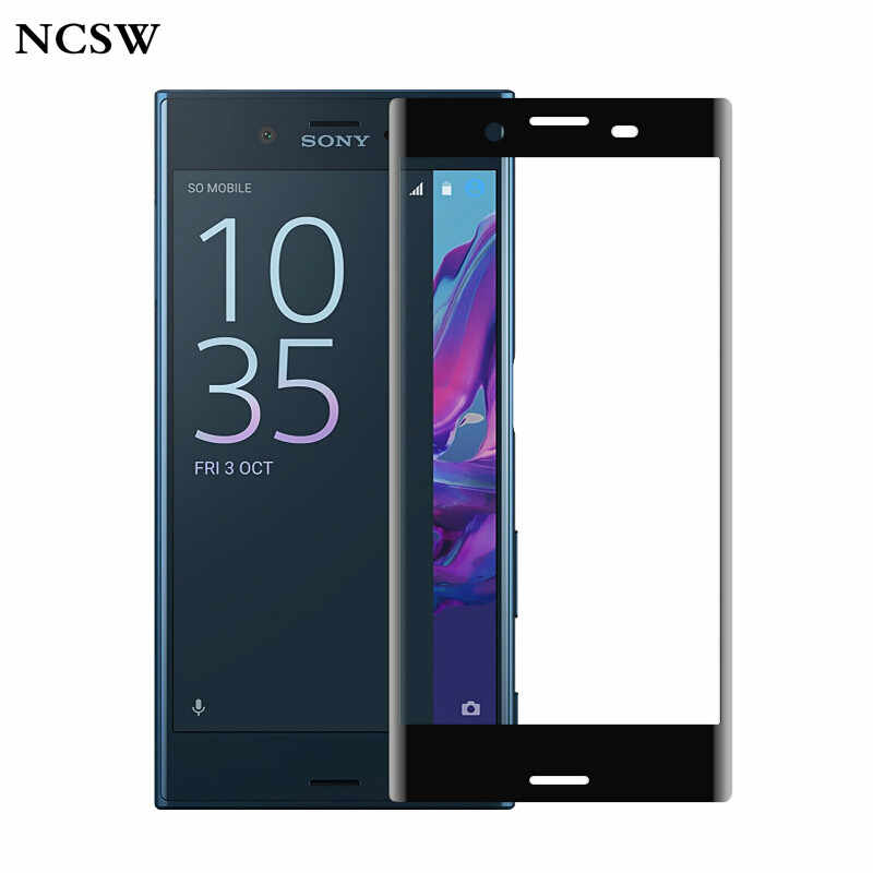 Full Cover Tempered Glass For Sony Xperia X Performance XZ XZS XA XA1 Ultra Screen Protector Protective 9H Toughened Glass Film